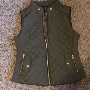 Love Tree Jackets & Coats - Olive green vest